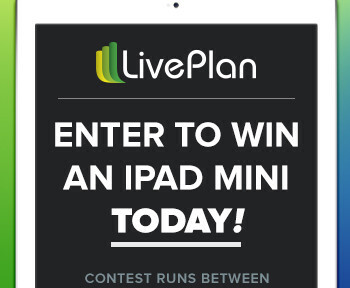LivePlan iPad Mini Sweepstakes