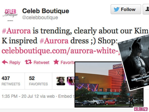 Clothing boutique posted an insensitive tweet after a tragedy.
