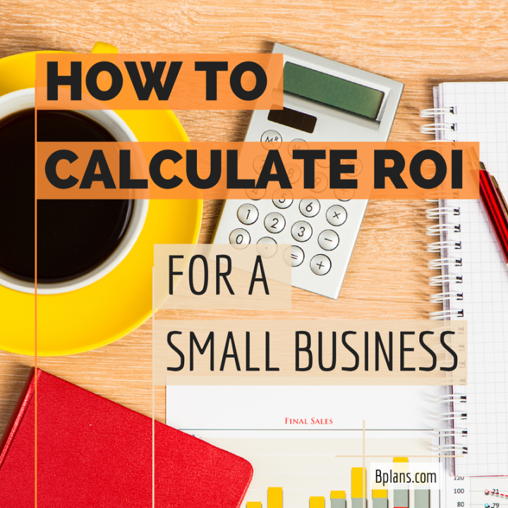 Business plan roi calculation