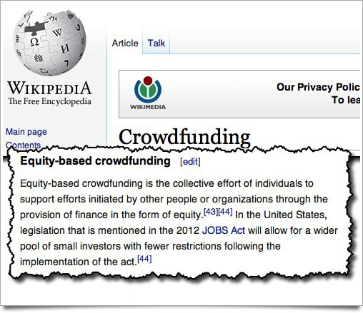 Wikipedia Crowdfunding