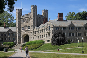 Princeton's alumni contribute more than any other in the United States.