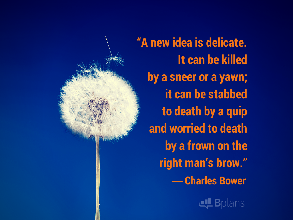 a new idea is delicate charles bower