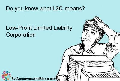 What is an L3C?