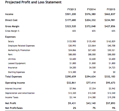 What Is an Income Statement – Sample of Profit and Loss Statement