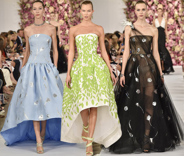 Oscar de la Renta at Fashion Week, Spring/Summer 2015.