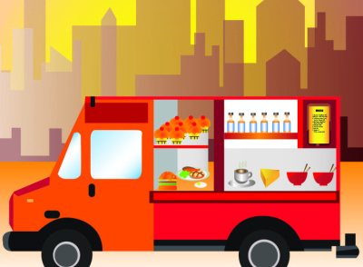 The beginner s guide to launching a food truck business for Design your own food truck online