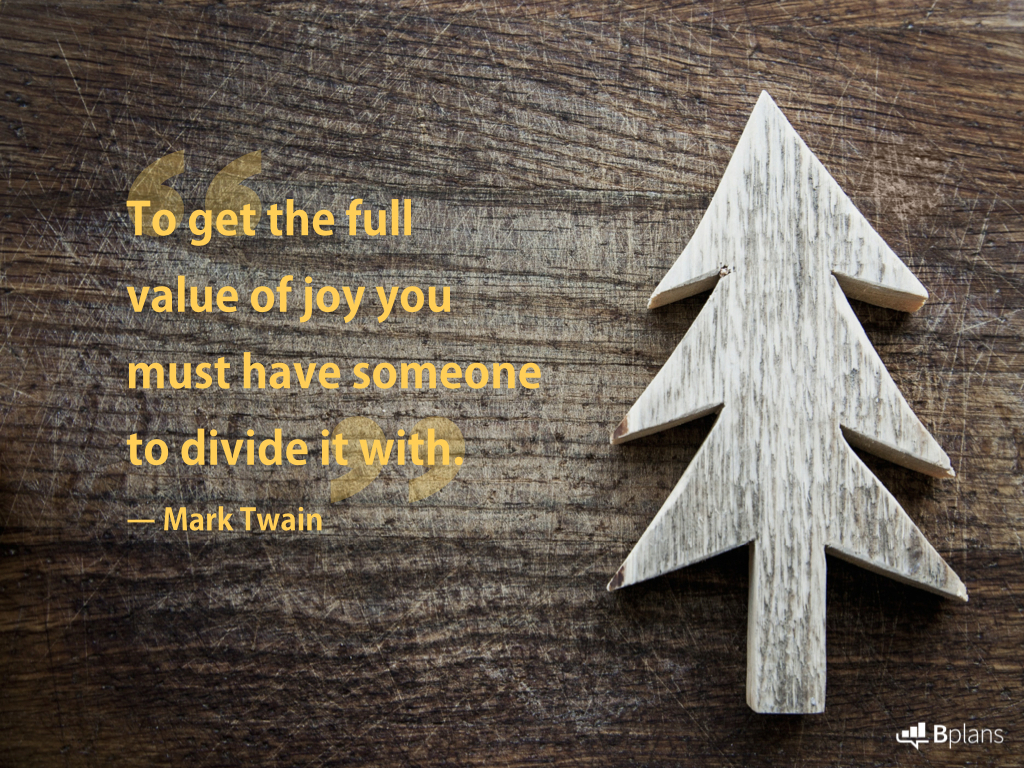 13 Quotes on the Joy and Importance of Giving Bplans