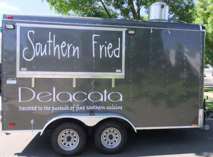 Delacata, the Sheehan's food truck.