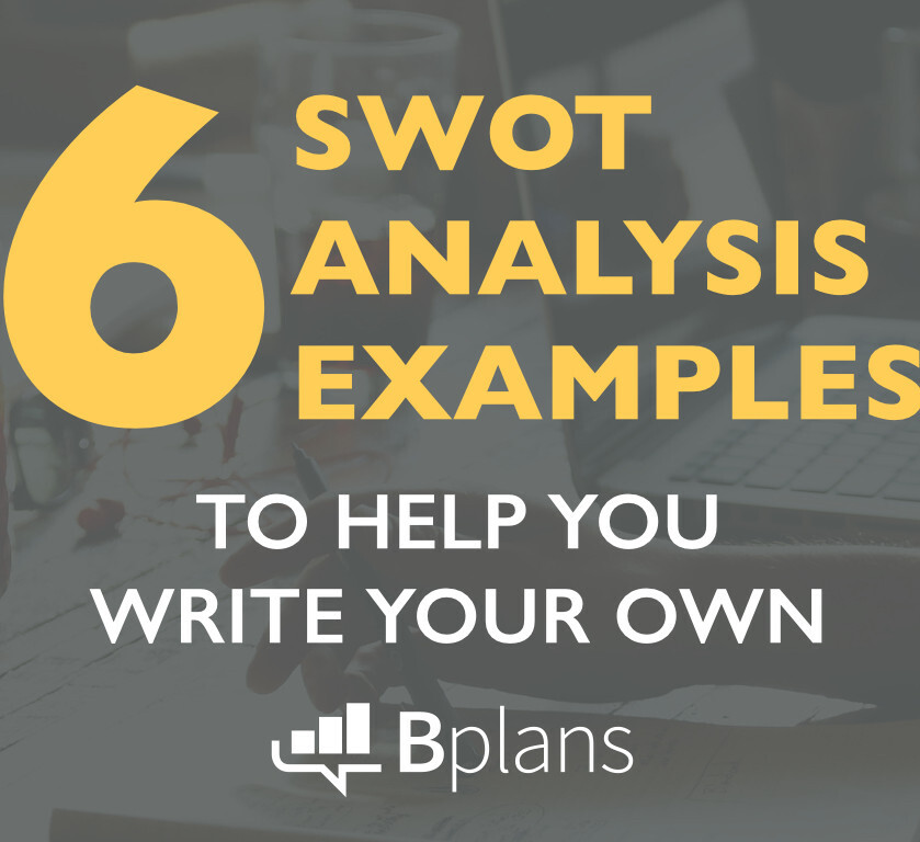 Swot Analysis Examples | Bplans