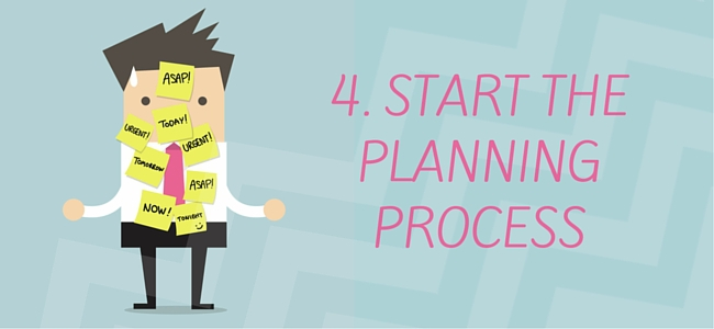 Begin the business planning process