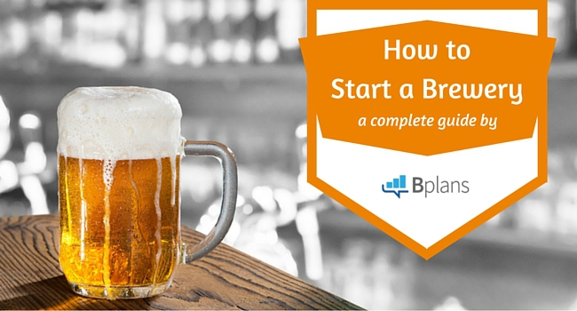how to start a brewery bplans