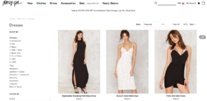 Nastygal has had huge success as an ecommerce site.