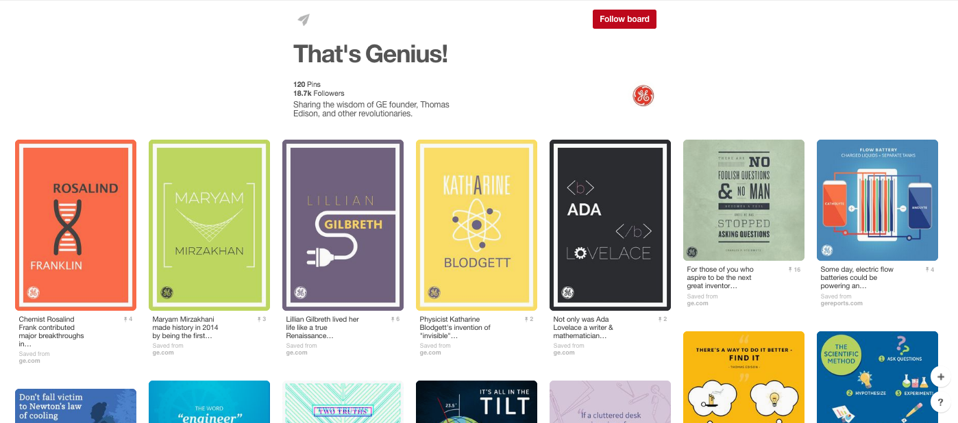 General Electric on Pinterest.