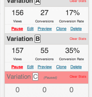 WordPress Landing Pages provides easy A/B testing and analytics.