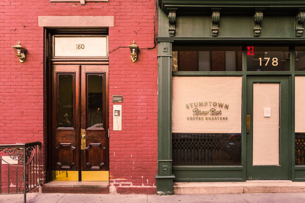 Stumptown coffee; naming your business concept