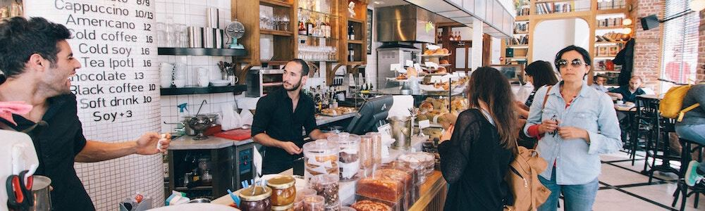 small business in store experience