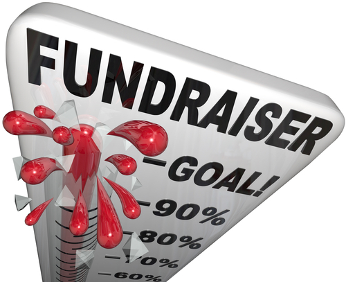 is fundraise a word