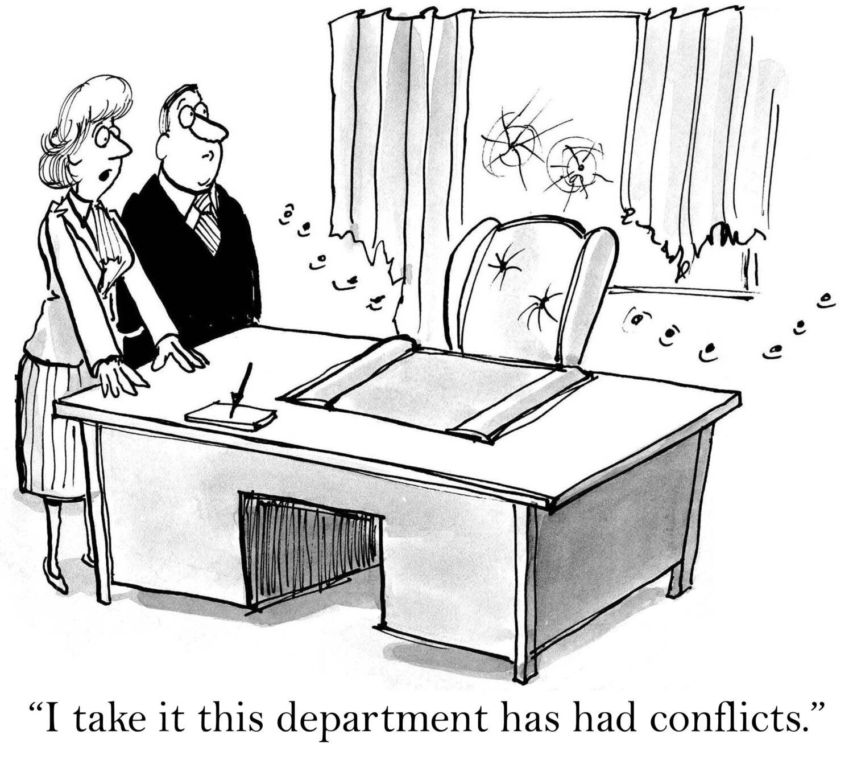 Conflict Management Cartoon