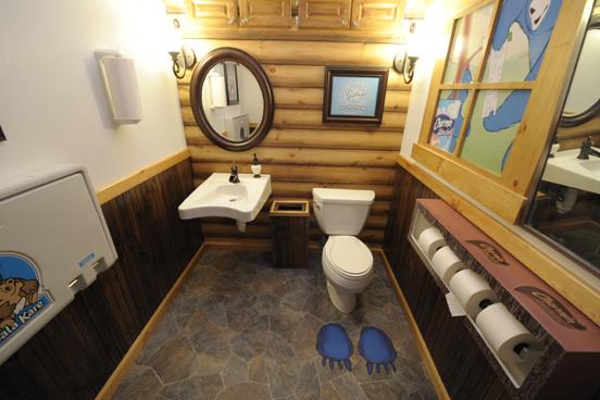 charmin public restroom