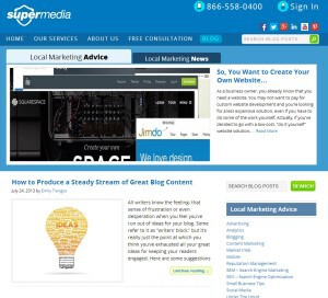 supermedia best marketing blogs