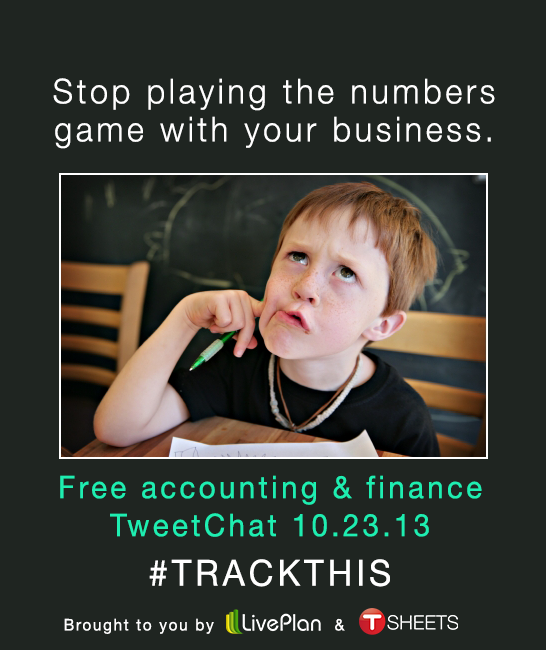 #TrackThis QuickBooks TweetChat