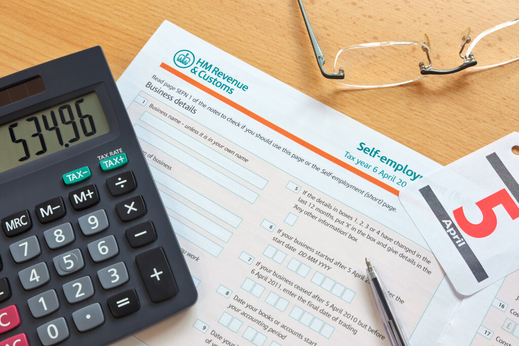 2013 UK SelfEmployment Tax Guide An Overview for Indebted – Self Employed Income Calculation Worksheet