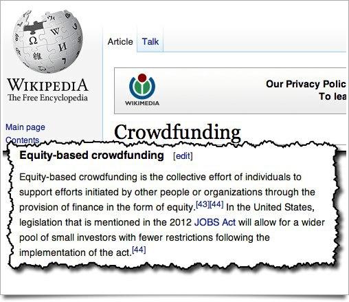 Wikipedia Crowdfunding