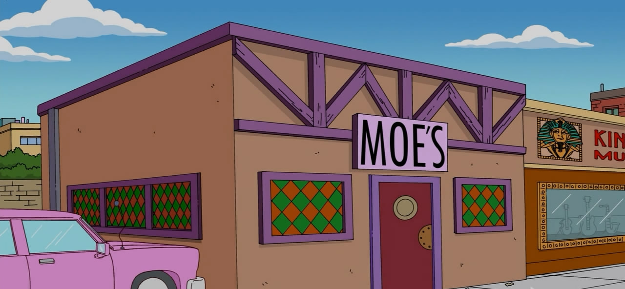 Moe's Tavern The Simpsons