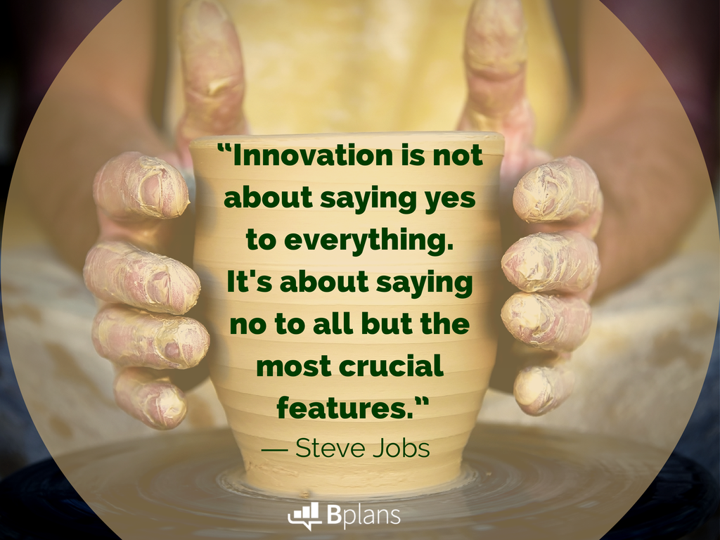 innovation is not about saying yes steve jobs