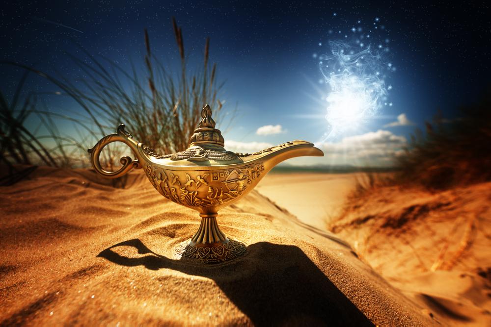 Aladino e la lampada meravigliosa Shutterstock_203013682
