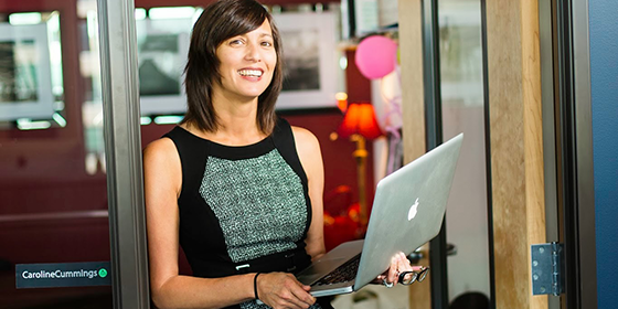 Caroline Cummings, VP of Sales and Business Development