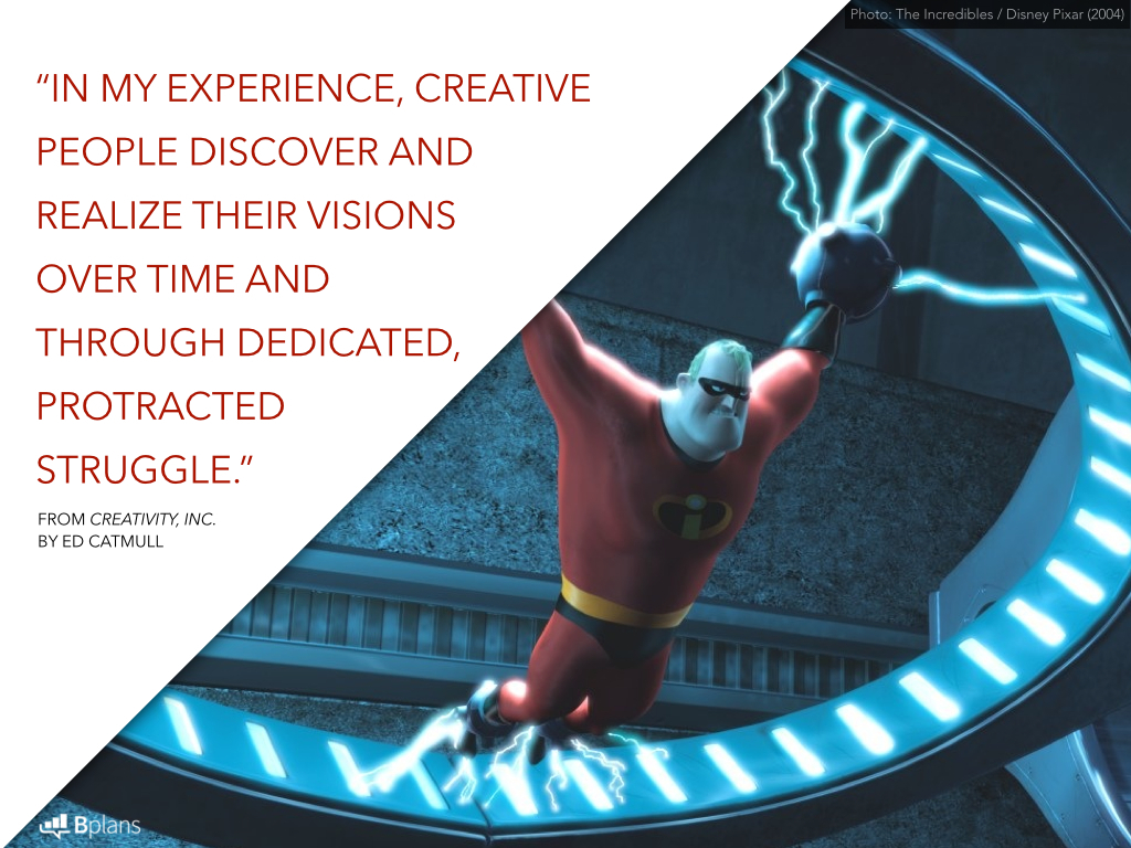 pixars way of fostering creativity Besides the incredibly interesting process behind pixar's evolution and the creation of animated films, the amazing way that this company cultivated a culture of communication and creativity is inspiring.