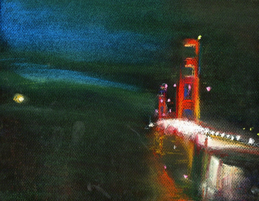 Steady Bridge Art by Ann Rea