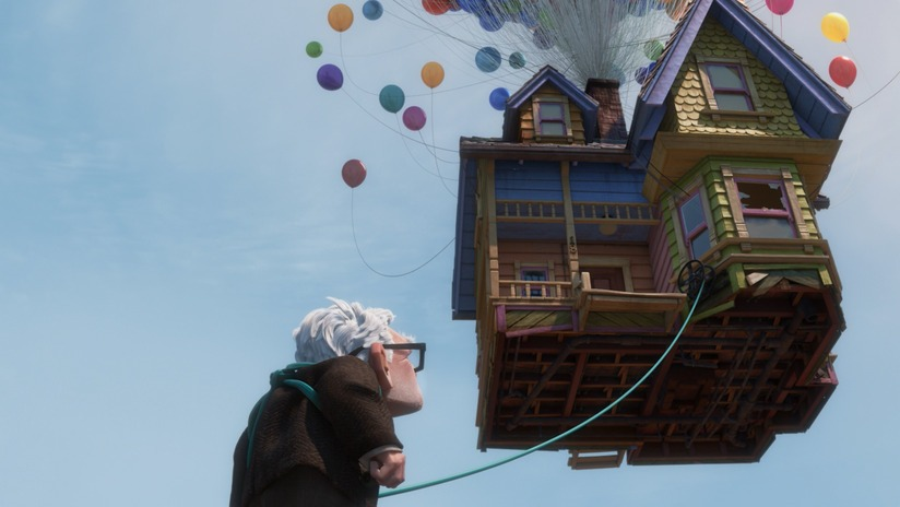Up Balloon Pixar - Doing Something New