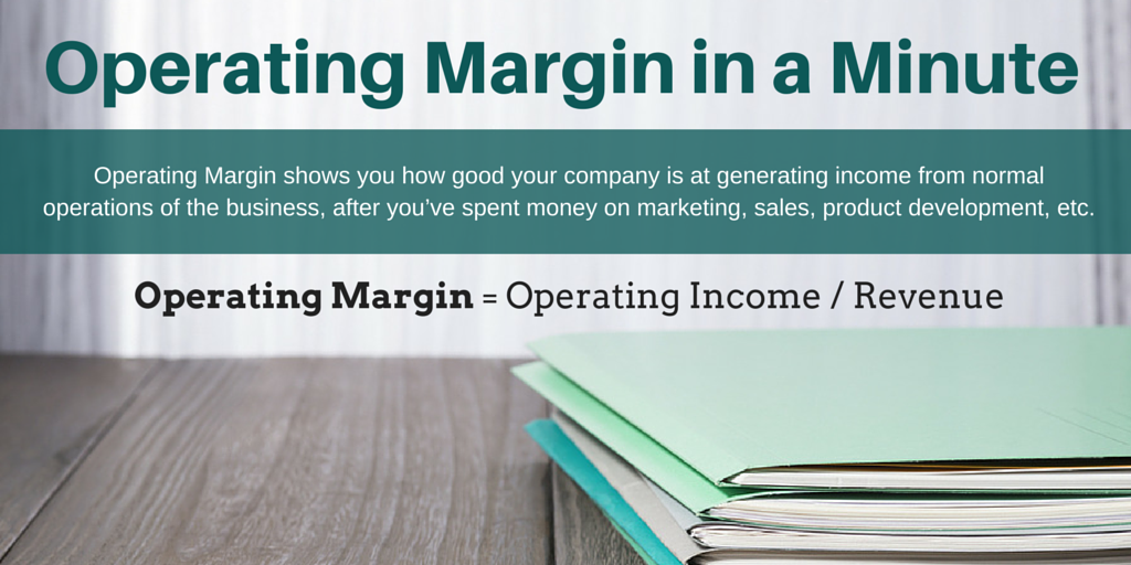 Operating Margin in a Minute