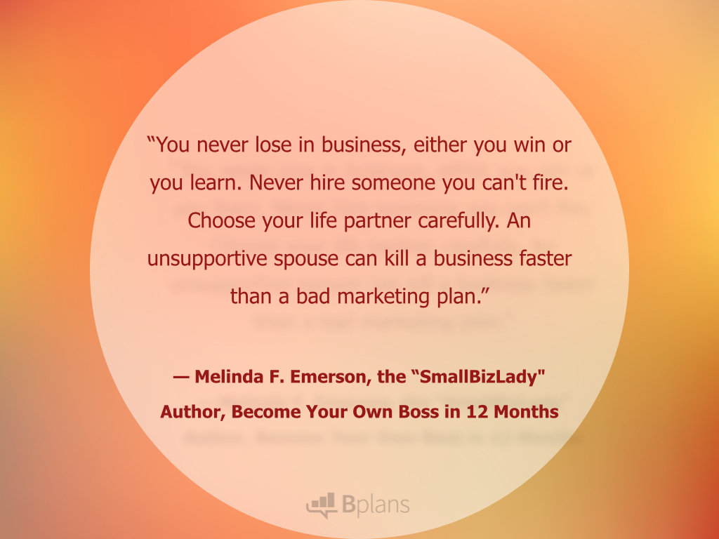 Quotes Women Glamorous 21 Quotes From Women Entrepreneurs  Bplans  Bplans