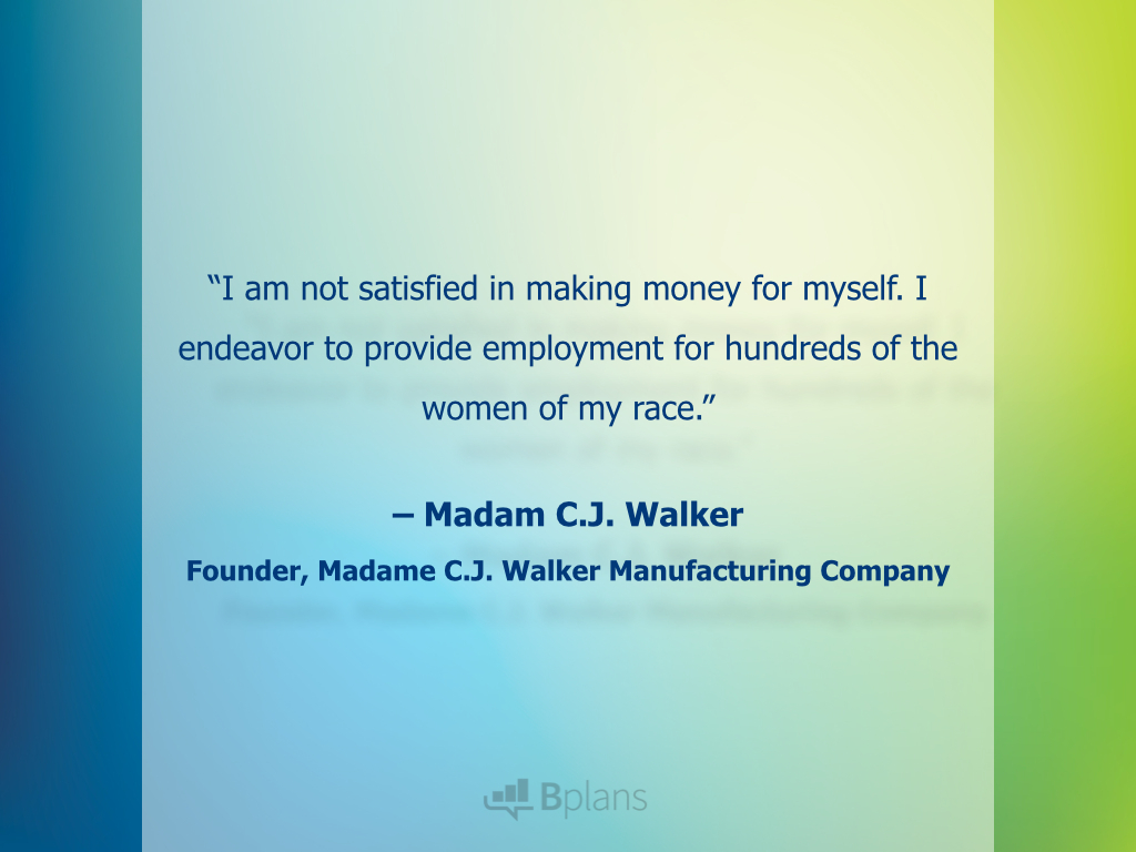 21 Quotes From Women Entrepreneurs Bplans Bplans