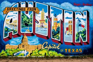 A mural in Austin.
