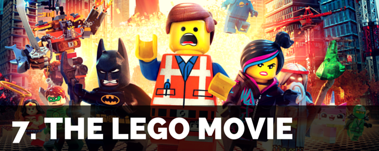 Top Movies - lego movie