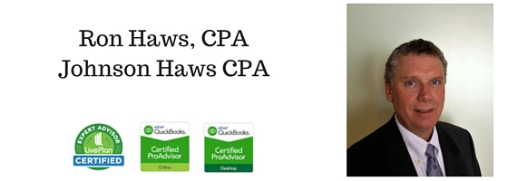 Ron Haws, CPAJohnson Haws CPA