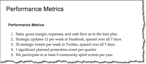 What are Business Metrics?