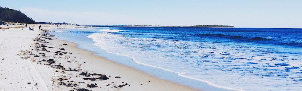 Beach; work life balance concept
