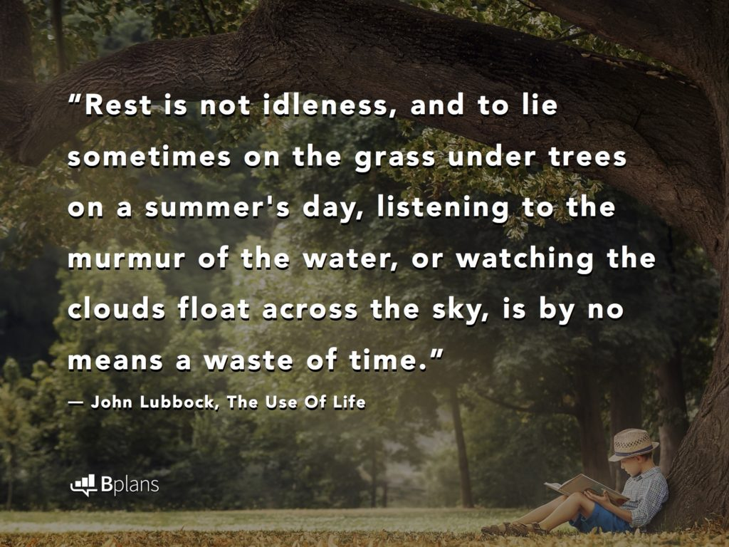 Pause: 15 Quotes on Why You Should Take Breaks, Relax, and ...
