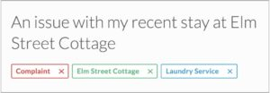 Easily organize your email using Outpost's robust tagging system.