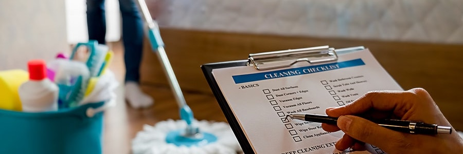 vacation rental property cleaning checklist
