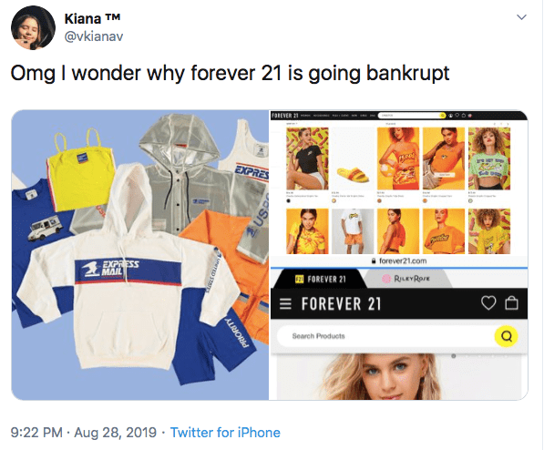 business plan components forever 21 fatally missed