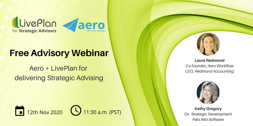 Webinar Recording: See how Aero and LivePlan work together to deliver advisory