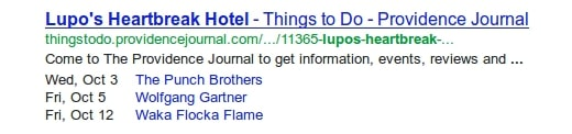 SERPS are special search results that your site can claim with the right content