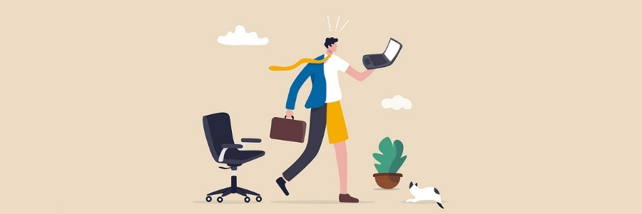 Balancing in-person and remote workers? Learn how to improve the productivity of your newly hybrid team with these 6 tips.