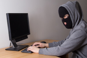 Thief at Computer